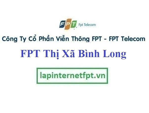 Lắp Đặt Internet FPT Thị Xã Bình Long tỉnh Bình Phước