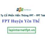 Lắp đặt mạng FPT huyện Yên Thế tỉnh Bắc Giang