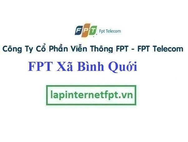 Lắp Đặt Mạng FPT Xã Bình Quới Tại Châu Thành Long An