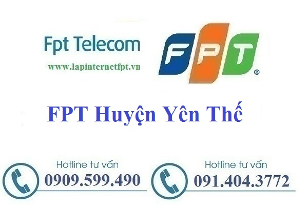 Lắp đặt cáp quang Fpt huyện Yên Thế