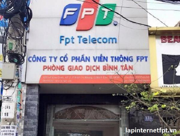 Chi nhánh fpt quận Bình Tân