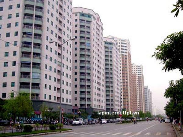 Danh sách các dự án căn hộ chung cư ở Hà Nội có thể lắp mạng fpt