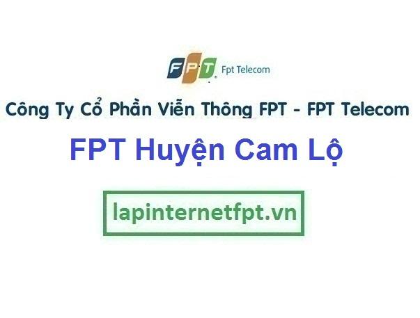 Lắp Đặt Mạng FPT Huyện Cam Lộ Tỉnh Quảng Trị