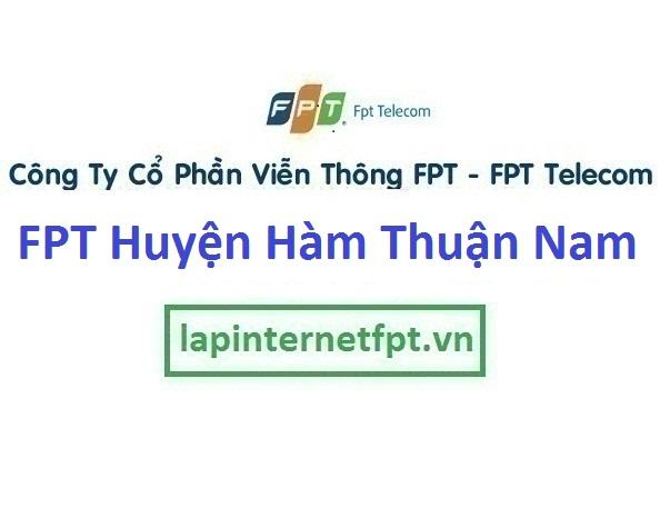 Lắp Đặt Mạng Fpt Huyện Hàm Thuận Nam Tỉnh Bình Thuận