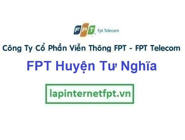 Lắp mạng FPT Huyện Tư Nghĩa