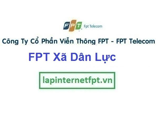 Lắp Đặt Mạng FPT Xã Dân Lực Ở Huyện Triệu Sơn Thanh Hóa