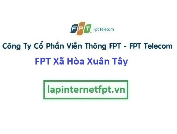 Đăng ký internet và truyền hình Xã Hòa Xuân Tây Ở Huyện Đông Hòa