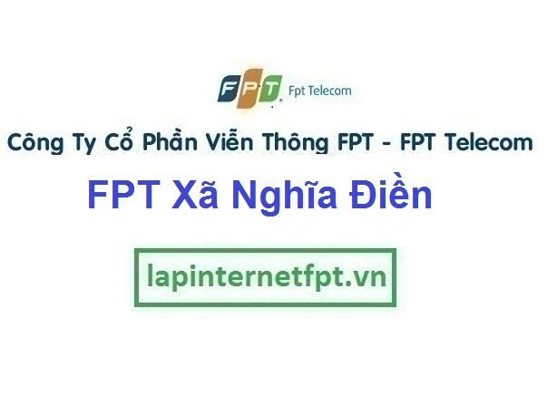 Lắp Mạng FPT Ở Xã Nghĩa Điền Tại Huyện Tư Nghĩa Quảng Ngãi