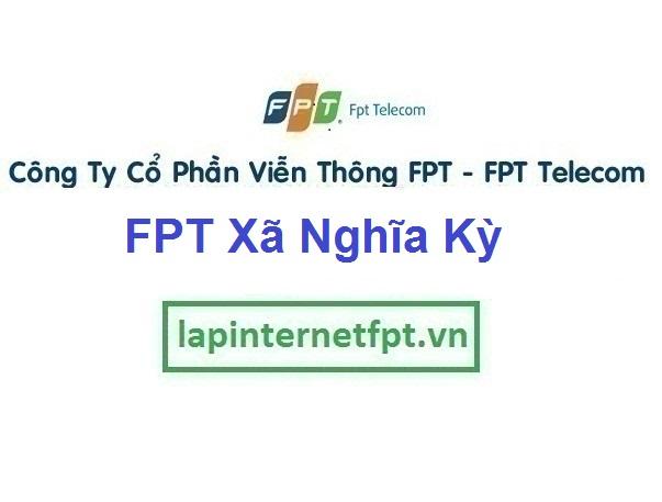 Lắp Mạng FPT Ở Xã Nghĩa Kỳ Tại Huyện Tư Nghĩa Quảng Ngãi