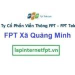 Lắp Đặt Mạng FPT Xã Quảng Minh Ở Thành Phố Sầm Sơn