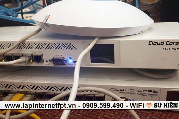 Cho thuê thiết bị wifi công suất cao cho sự kiện