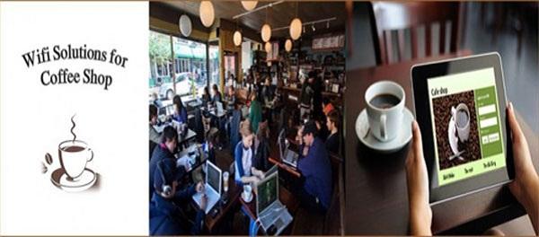 Giải pháp mạng wifi cho quán cà phê