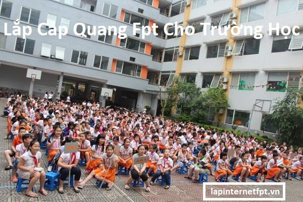 Lắp Cáp Quang Fpt cho trường học