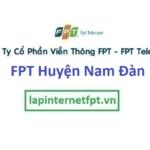 Lắp Đặt Mạng Fpt Huyện Nam Đàn Tỉnh Nghệ An