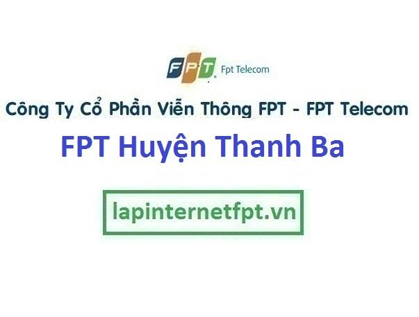 Lắp Đặt Mạng Fpt Huyện Thanh Ba