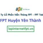 Lắp Đặt Mạng FPT Huyện Yên Thành Tỉnh Nghệ An