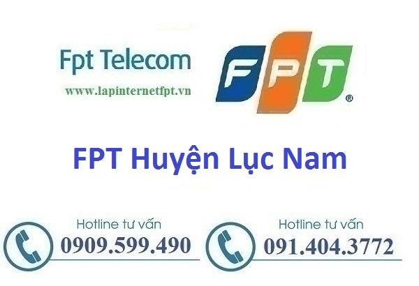 Internet FPT Huyện Lục Nam - FPT Bắc Giang