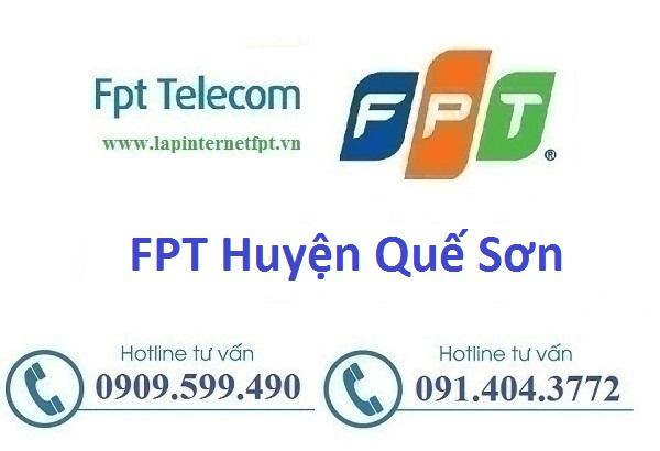 Internet Fpt Huyện Quế Sơn - Fpt Quảng Nam
