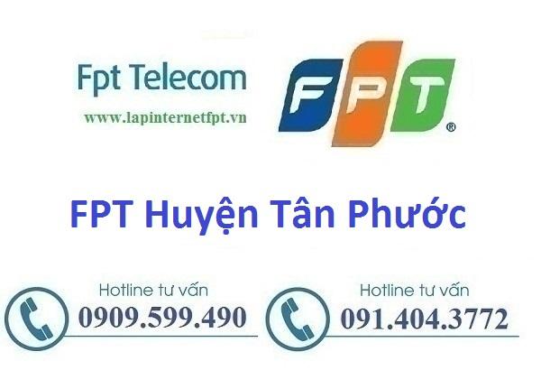 Lắp đặt cáp quang Fpt huyện Tân Phước