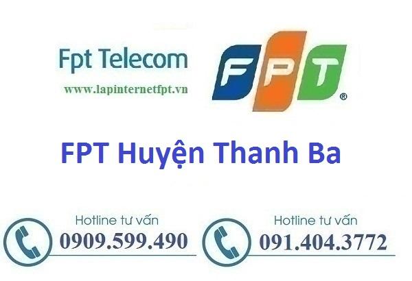 đăng ký lắp đặt cáp quang Fpt huyện Thanh Ba