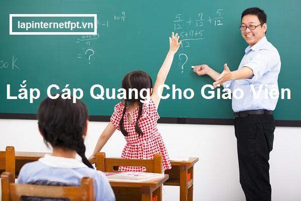 Lắp Cáp Quang Fpt Cho Giáo Viên