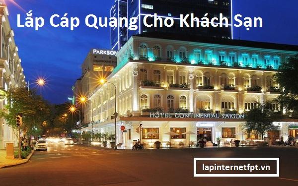 Lắp Cáp Quang Cho Khách Sạn