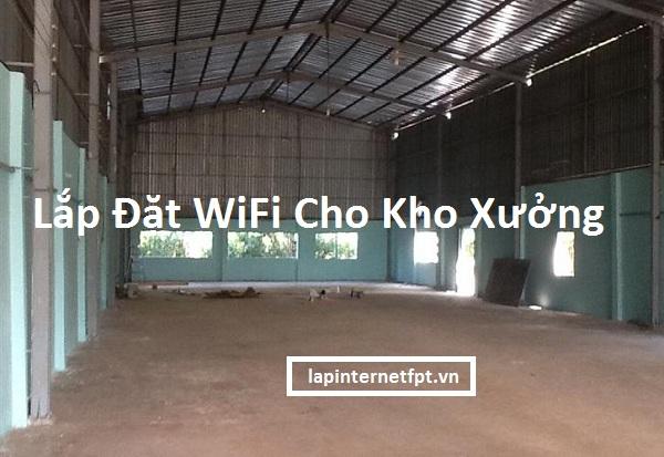 Lắp Đặt WiFi Cho Nhà Xưởng