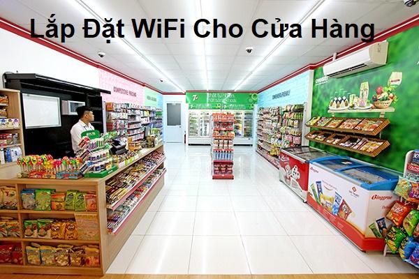 Lắp Đặt wifi cho cửa hàng