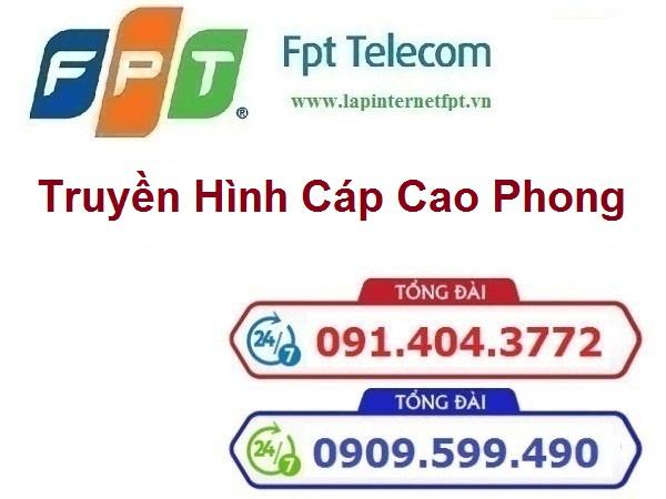 Truyền hình cáp huyện Cao Phong