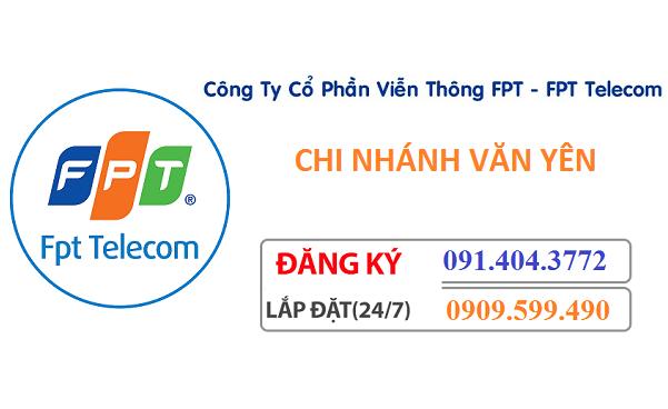 lắp đặt mạng Fpt huyện Văn Yên