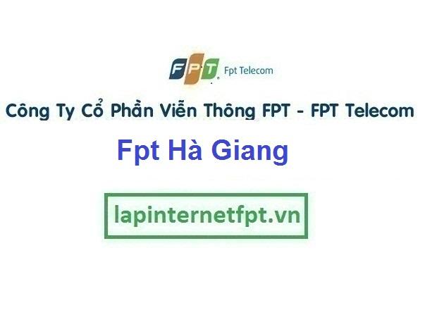 Lắp Đặt Mạng Fpt Hà Giang miễn phí hòa mạng 100%