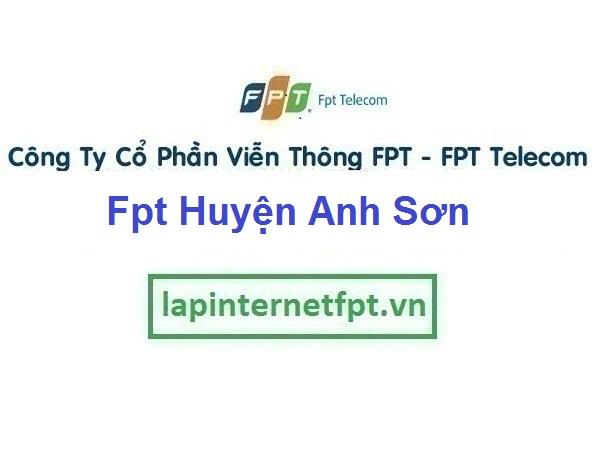 Lắp Đặt Mạng Fpt Huyện Anh Sơn ở tại tỉnh Nghệ An
