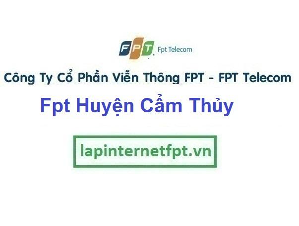 Lắp Đặt Mạng Fpt Huyện Cẩm Thủy ở tại tỉnh Thanh Hóa