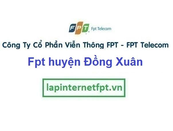 Lắp Đặt Mạng Fpt Huyện Đồng Xuân Ở Tỉnh Phú Yên