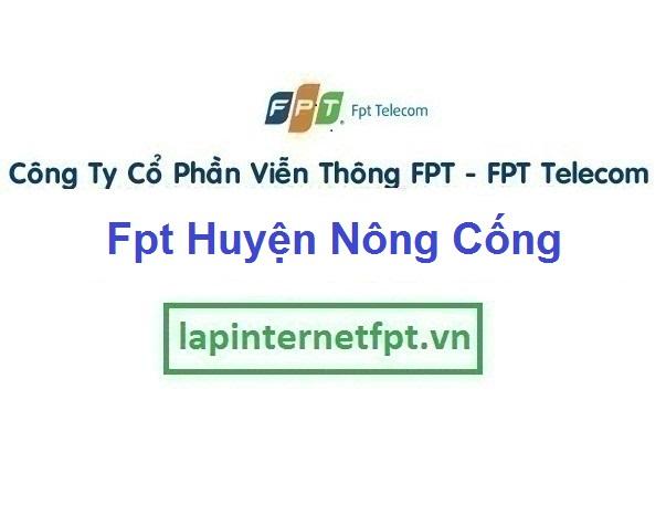 Lắp Đặt Mạng Fpt Huyện Nông Cống ở tỉnh Thanh Hóa