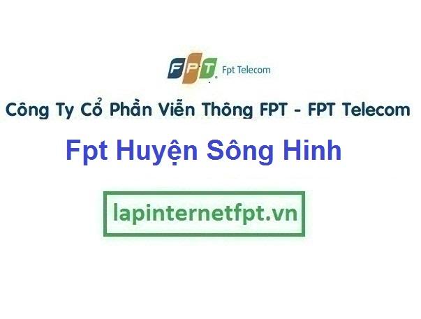 Lắp Đặt Mạng Fpt Huyện Sông Hinh tại tỉnh Phú Yên
