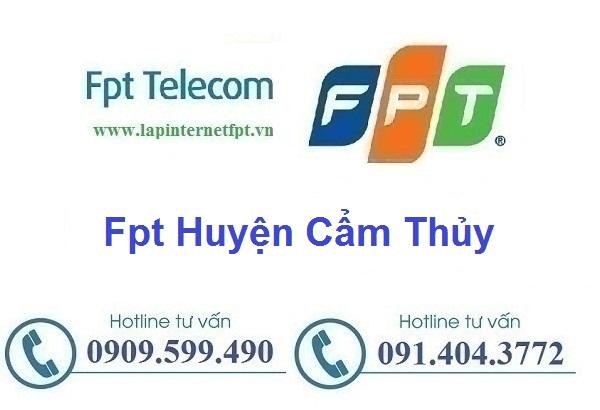 Lắp đặt mạng cáp quang Fpt huyện Cẩm Thủy