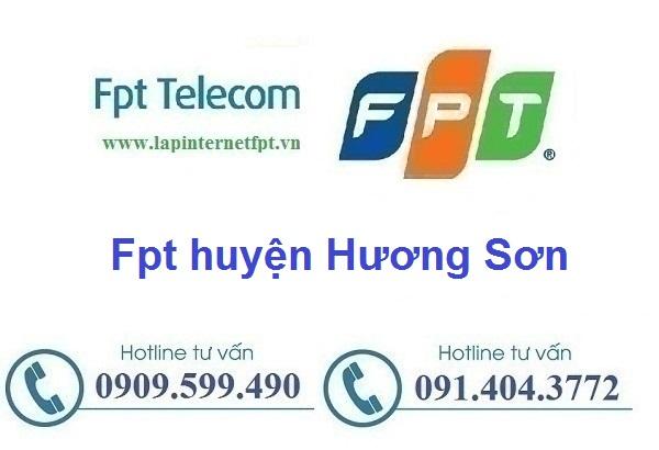 Lắp đặt mạng cáp quang Fpt huyện Hương Sơn