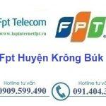 Lắp Đặt Mạng Fpt Huyện Krông Búk tỉnh Đắk Lắk giá ưu đãi
