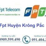 Lắp Đặt Mạng Fpt Huyện Krông Păk tại tỉnh Đắk Lắk