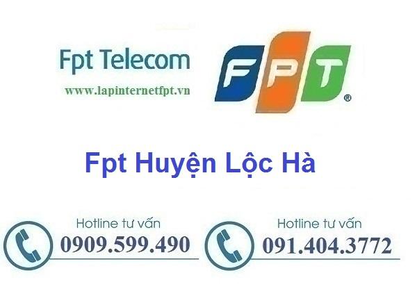 Lắp đặt mạng cáp quang Fpt huyện Lộc Hà