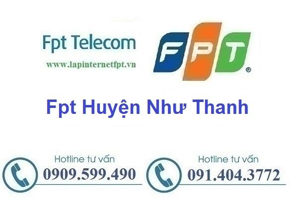 Lắp đặt mạng cáp quang Fpt huyện Như Thanh