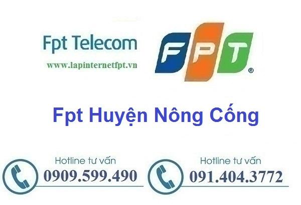 Lắp đặt mạng cáp quang Fpt huyện Nông Cống