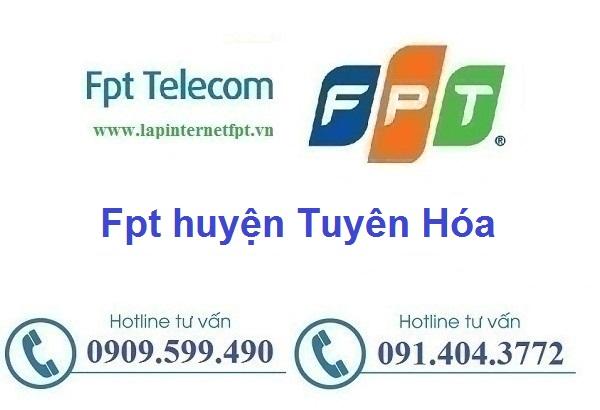 Lắp đặt mạng cáp quang Fpt Huyện Tuyên Hóa
