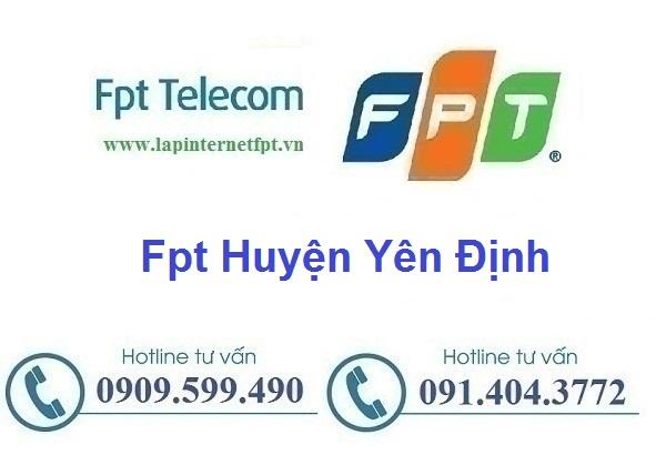Lắp đặt mạng cáp quang Fpt huyện Yên Định