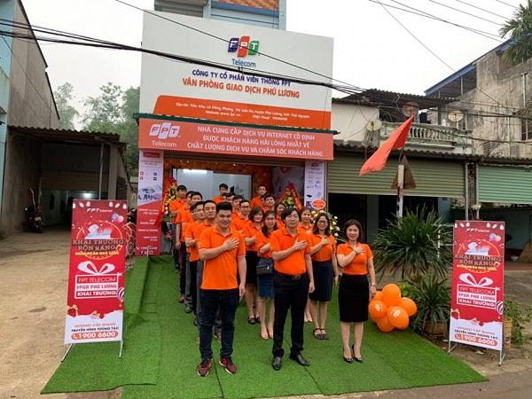 Phòng giao dịch Fpt huyện Phú Lương