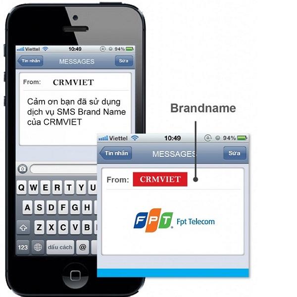 Quảng cáo bằng tin nhắn SMS Brand Name FPT