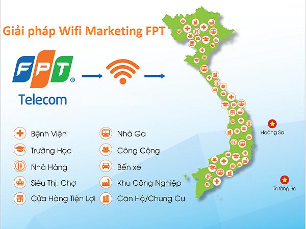 Giải pháp wifi marketing Fpt