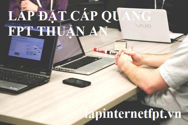 Lắp đặt cáp quang fpt Thuận An