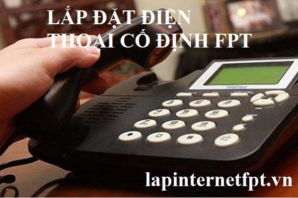 Lắp đặt điện thoại cố định Fpt